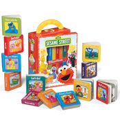 My First Sesame Street Book Set with Carrying Case