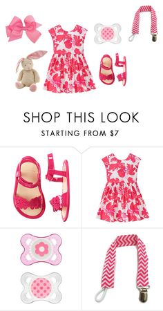 """""""Sin título #3078"""" by alejaborrayo ❤ liked on Polyvore featuring Baby, girl, five and months"""