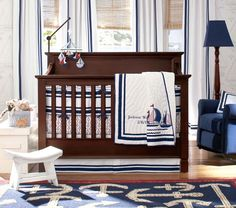 Boy S Nursery Bedding Nautical Baby Or Toddlers Room