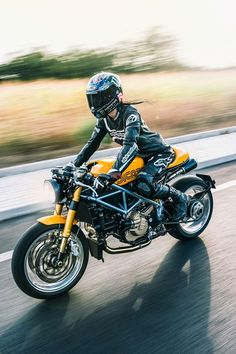 Rider Girl on Ducati