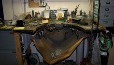 European style Jewelers Bench