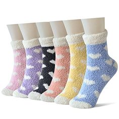 Women's Casual Socks - Skola Womens Mens 6pairs pack Patterned Super Soft Cozy Fuzzy Winter Warm Crew Slipper Home Socks *** More info could be found at the image url. (This is an Amazon affiliate link) Fashion Socks, Women's Socks & Hosiery, Cute Gifts, Fit Women, Slippers, Cozy, Warm, Pattern, Everyday Activities