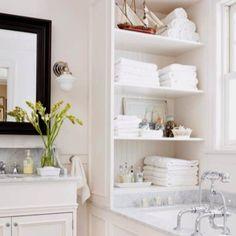 Lastest Bathroom Shelves  Stacy Risenmay