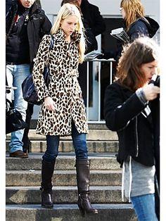 Another cute leopard print coat
