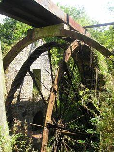 TREGARGUS WATER WHEEL (2004) | Tregargus, Cornwall     ✫ღ⊰n