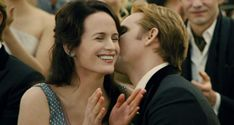 Twilight Breaking Dawn Part 1 Wedding | carlisle s kiss on the cheek of esme during edward and bella s wedding