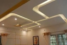 Halcyon Phoenix,Hyderabad: modern by LJ Interior Concept,Modern Drawing Room Ceiling Design, Gypsum Ceiling Design, House Ceiling Design, Ceiling Design Living Room, Bedroom False Ceiling Design, False Ceiling Living Room, Home Ceiling, Ceiling Decor, Modern Ceiling Design