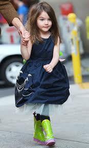 Suri Cruise (Every child's fashion icon)