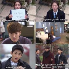 The Heirs eps. Heirs Korean Drama, The Heirs, Korean Dramas, Cinderella And Four Knights, Good Morning Call, It's Over Now, Kid Sister, My Love From Another Star, Playful Kiss