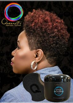sponged natural style with Queencutz Style molding wax and Queencutz Styling Sp Natural Tapered Cut, Natural Short Cuts, Big Chop Natural Hair, Short Natural Haircuts, Natural Hair Journey, Short Sassy Hair, Short Grey Hair, Short Hair Cuts, Short Hair Syles