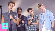 Brad, James, Connor and Tristan from The Vamps share their secrets with 4Music.  #TheVamps