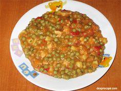 reteta,copii,mancare,mazare,carne,curcan Carne, Salsa, Food And Drink, Ethnic Recipes, Salsa Music