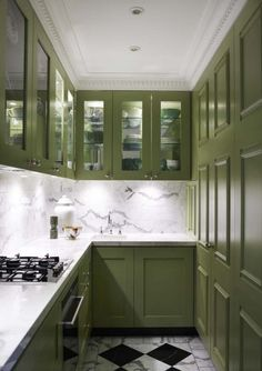 butlers pantry but could with a little rework be a very small studio kitchen