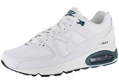 GENTLEMEN TRAINERS NIKE AIR MAX COMMAND WHITE-VERT FONCÉ HOT SALE! HOT PRICE!