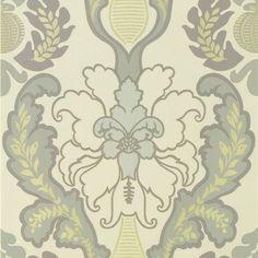 giacosa - graphite wallpaper | Designers Guild