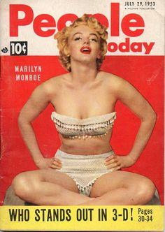 Marilyn Monroe on People Today 1953