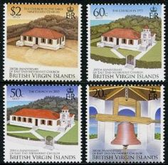 Virgin Islands Methodist Church Stamps Virgin Islands, Stamp Collecting, Postage Stamps, Gazebo, Outdoor Structures, Us Virgin Islands, Stamps, Pavilion, Arbors