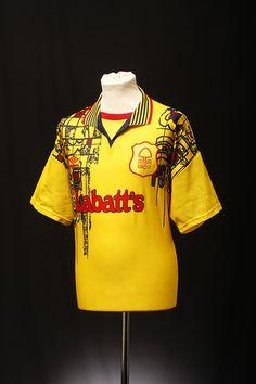 Nottingham Forest Football Shirt (Away, Cut Up Shirts, Cheer Shirts, Tie Dye Shirts, Team Shirts, T Shirt Yarn, Party Shirts, Old Football Shirts, Soccer Jerseys, Football Kits