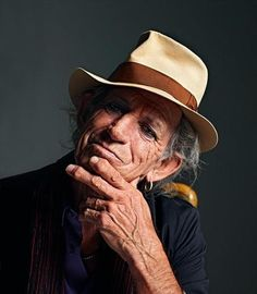 Keith Richards. The Rolling Stones. #TheRollingStones #KeithRichards #RonnieWood #CharlieWatts #MickJagger