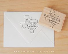 Hey, I found this really awesome Etsy listing at http://www.etsy.com/listing/153170441/custom-rubber-stamp-texas-state-address