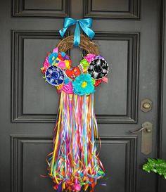 "On The Rio Fiesta Wreath - 16"""