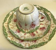 11 Piece Tea Set ~ C.1890-95 RARE ANTIQUE AYNSLEY FINE BONE CHINA PINK FLORAL | eBay