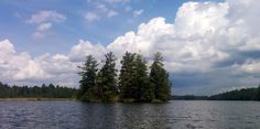 Lovely islands & shore to explore SUP on White Lake at Bayview Lodge Arnprior