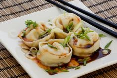 Image in Food & drinks 🍕🍔 collection by кαтнαяιηα« ∞ Best Korean Food, Korean Dumplings, Food Porn, Asian Recipes, Ethnic Recipes, Asian Foods, Good Food, Yummy Food, Korean Dishes