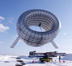♨mONSTER dESIGN bLOG - 몬스터디자인 블로그 :: 풍선형태의 풍력 터빈 (AWT) 프로토타입 공개