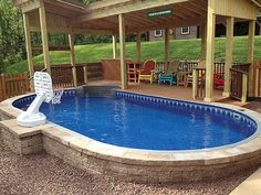 69 Best Semi Inground Pools Images In 2019 In Ground