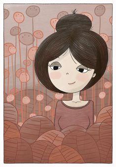 into the lost red - Covid Logisn Black Girl Art, Art Girl, Drawing Art, Art Drawings, Life Comics, Doodle Coloring, Illustration Art, Illustrations, Aesthetic Art