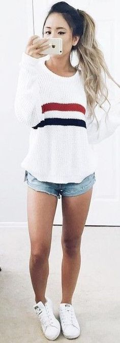 #prefall #backtoschool #outfits | Back To School Outfit Idea