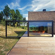 porch / modern zagorje cottage, kumrovek