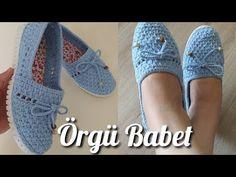 Crochet Shoes Pattern, Shoe Pattern, Crochet Slippers, Crochet Patterns, Crochet Storage, Diy Crochet, Zapatos Shoes, Crochet Sandals, Crochet Videos