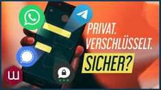 Welcher Messenger ist am sichersten? - YouTube Apps, Videos, Youtube, Information Privacy, App, Youtubers, Youtube Movies, Appliques