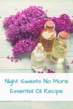 essential oil recipe for night sweats
