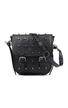 Studded Sling Bag - Black - Sling Bag - Bags | CHARLES & KEITH ...