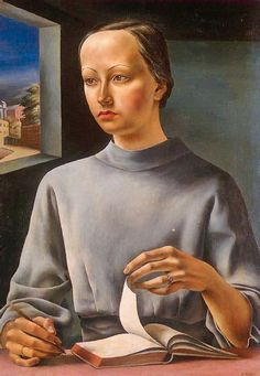 La muchacha del libro (1936), de Antonio Berni