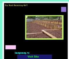 Diy Wood Retaining Wall 160636 - The Best Image Search