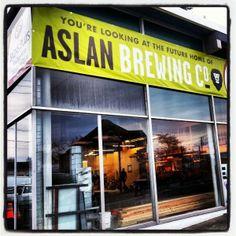 Coming soon: Aslan Brewing Co.