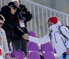 El encuentro 'real' de Alberto de Mónaco y Haakon de Noruega en Sochi