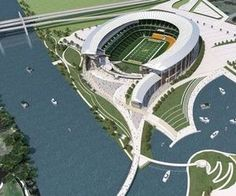 concept for Baylor's new stadium