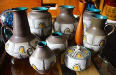 Carstens Vase West Germany Retro Mid century by andiamocivintage