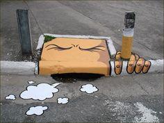 Street Art - art de rue in Natures Paul Keirn (37)