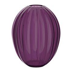 VÅRLIKT Maljakko IKEA Suupuhallettua lasia; taidokasta käsityötä.
