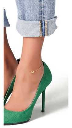 butterfly anklet :: love!