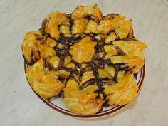 Floare Cu Nutella din Foietaj ⋆ Dalida Cuisine