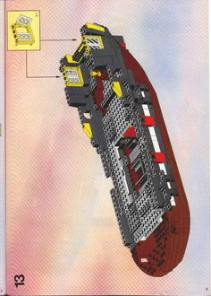 Thousands of complete step-by-step printable older LEGO® instructions for free. Here you can find step by step instructions for most LEGO® sets. Lego Instructions, Step By Step Instructions, Lego Castle, Pirate, Lego Sets, Bags, User Guide, Handbags, Dime Bags