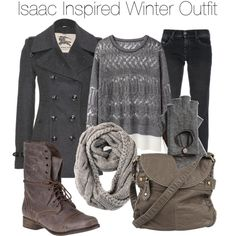 Teen Wolf - Isaac Inspired Winter Outfit