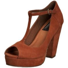 £42 Bertie Women's Camilo T Straps Heels - Free One-Day Delivery & Return Shipping   Javari.co.uk